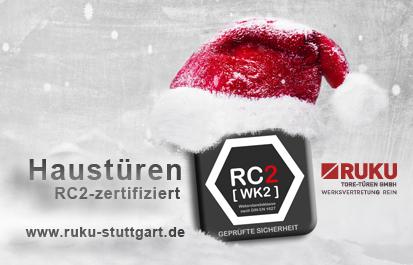 RC2-zertifizierte Haustueren